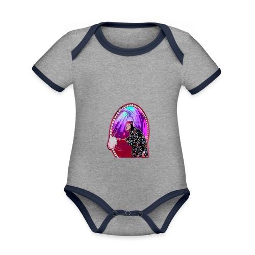 SERGI - Body contraste para bebé de tejido orgánico