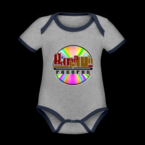 BROWNSTOWN RECORDS - Organic Baby Contrasting Bodysuit