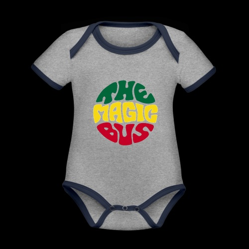 THE MAGIC BUS - Organic Baby Contrasting Bodysuit