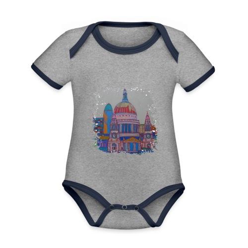 London - Baby Bio-Kurzarm-Kontrastbody