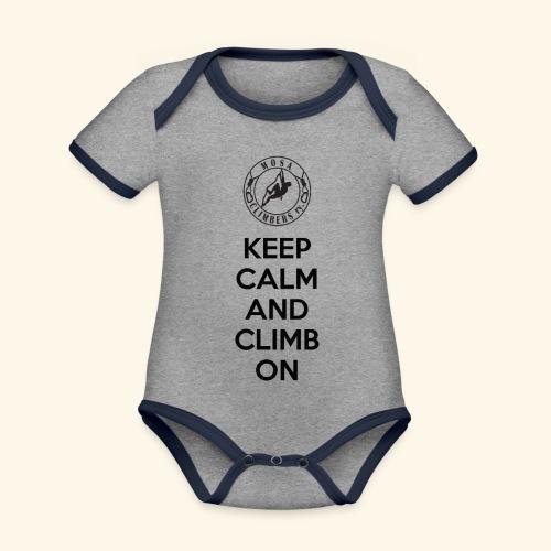 Keep Paita - Vauvan kontrastivärinen, lyhythihainen luomu-body