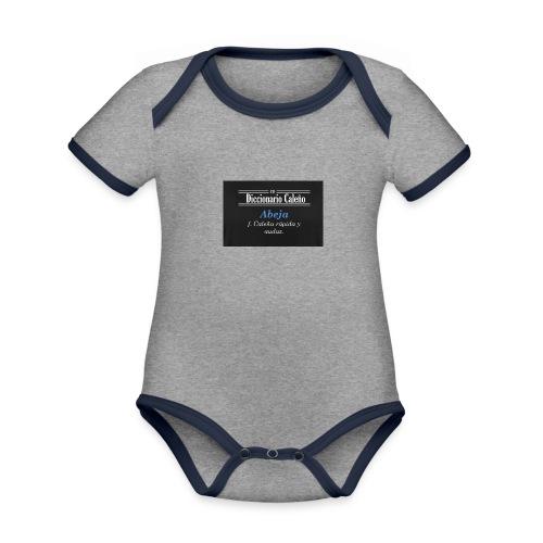Diccionario caleño - Body contraste para bebé de tejido orgánico