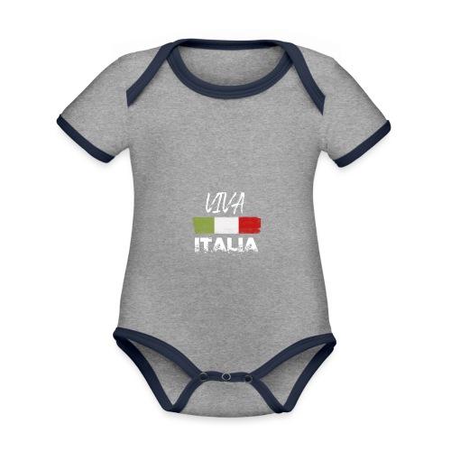 VIVA ITALIA - Organic Baby Contrasting Bodysuit