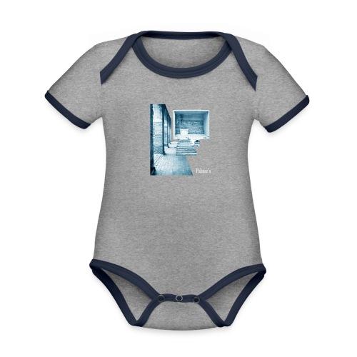Antique - Body contraste para bebé de tejido orgánico