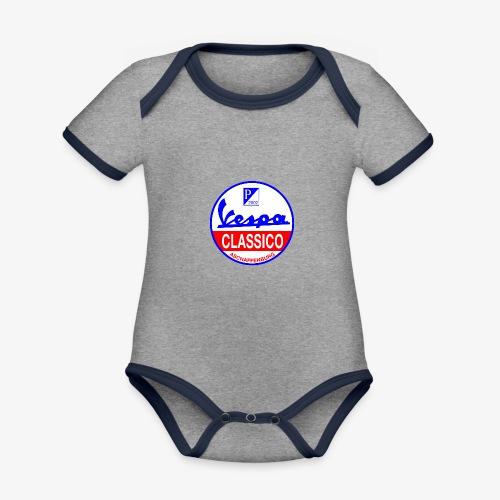 VCA Logo - Baby Bio-Kurzarm-Kontrastbody