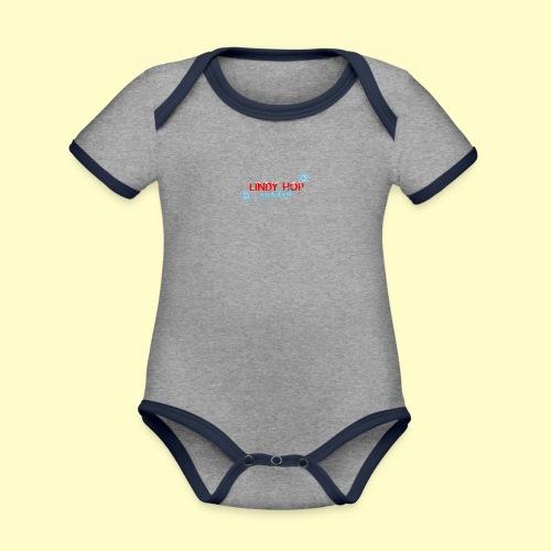 Lindy Hop Wonderland Tanz T-shirt - Baby Bio-Kurzarm-Kontrastbody