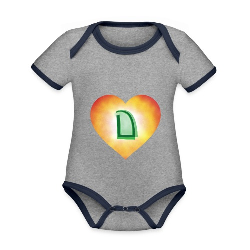 Dats Dramatic - Organic Baby Contrasting Bodysuit