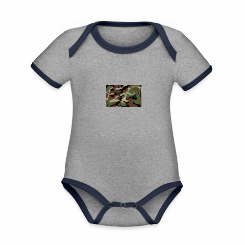 camu - Body contraste para bebé de tejido orgánico