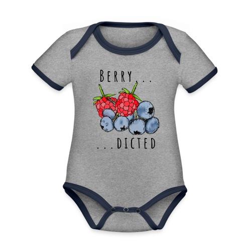 Berry dicted - Baby Bio-Kurzarm-Kontrastbody