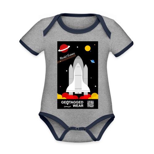 Rocket Science Kids - Baby Bio-Kurzarm-Kontrastbody