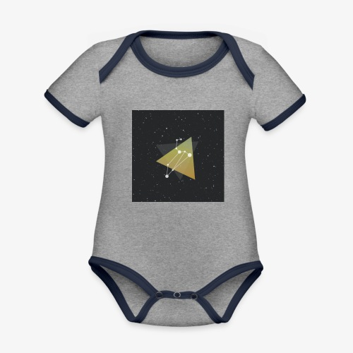 4541675080397111067 - Organic Baby Contrasting Bodysuit
