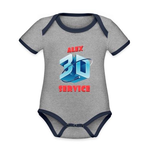 logo emporesa de impresion 3d en albacete - Body contraste para bebé de tejido orgánico