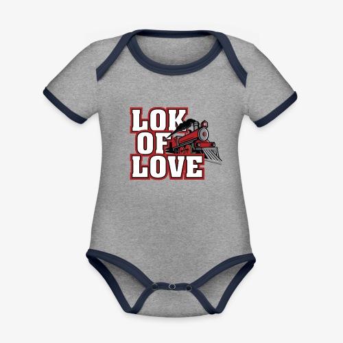LOK OF LOVE 3 - Baby Bio-Kurzarm-Kontrastbody