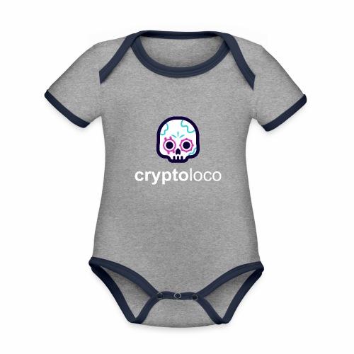CryptoLoco - Legend - Body Bébé bio contrasté manches courtes