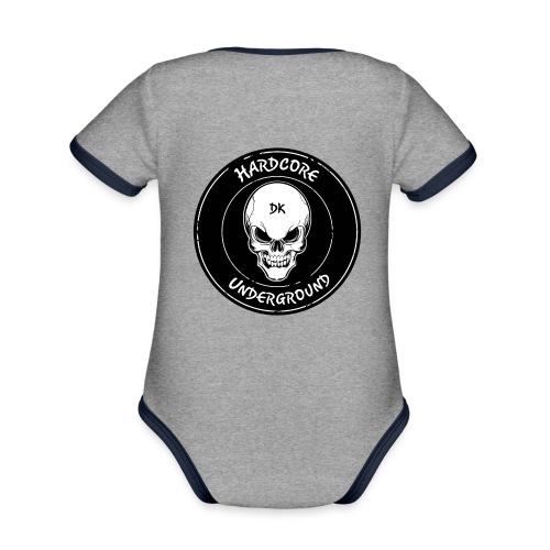 UndergrounDK Clothing est. 2017 - Kortærmet økologisk babybody i kontrastfarver
