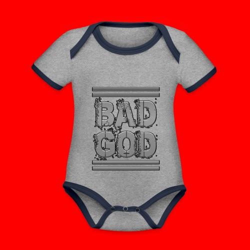 BadGod - Organic Baby Contrasting Bodysuit