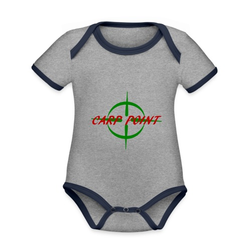 Carp Point - Baby Bio-Kurzarm-Kontrastbody