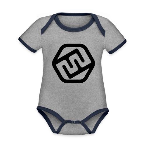 TshirtFFXD - Baby Bio-Kurzarm-Kontrastbody
