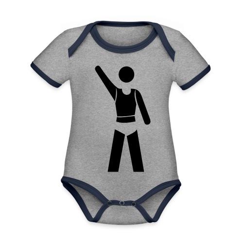 icon - Baby Bio-Kurzarm-Kontrastbody