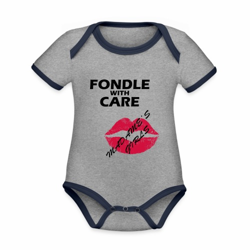Fondle with Care - Organic Baby Contrasting Bodysuit