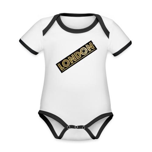 LONDON - Organic Baby Contrasting Bodysuit