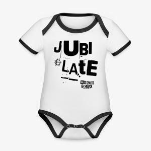 Jubilate-Tasche - Baby Bio-Kurzarm-Kontrastbody