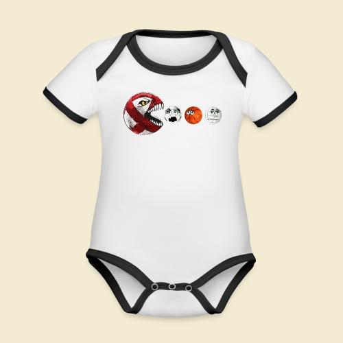 Radball | Cycle Ball RedMan - Baby Bio-Kurzarm-Kontrastbody