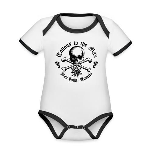 Logo Tattoos to the Max I - Baby Bio-Kurzarm-Kontrastbody