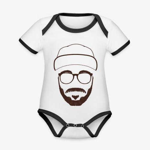 Mark - Baby Bio-Kurzarm-Kontrastbody