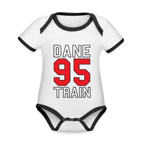 Dane Train #95 - Baby Bio-Kurzarm-Kontrastbody