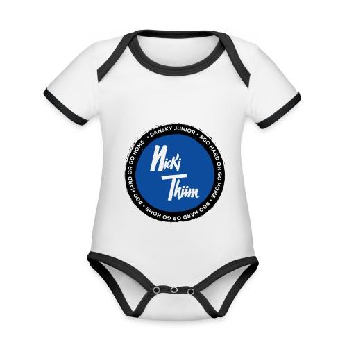 Classic Logo - Baby Bio-Kurzarm-Kontrastbody