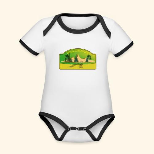 BalkanMotorWorks - Baby Bio-Kurzarm-Kontrastbody