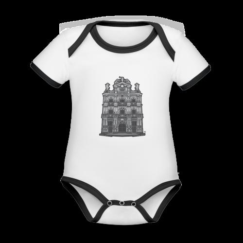 Ayuntamiento de Pamplona/Iruña - Body contraste para bebé de tejido orgánico