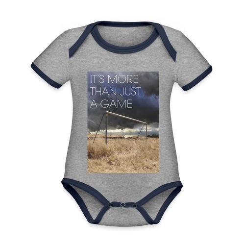 more - Organic Baby Contrasting Bodysuit