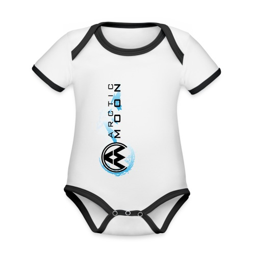4 png - Organic Baby Contrasting Bodysuit
