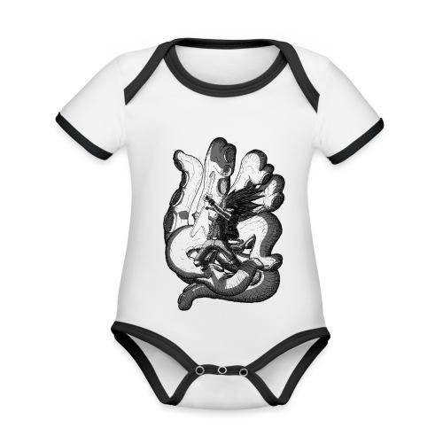 Octopus - Organic Baby Contrasting Bodysuit