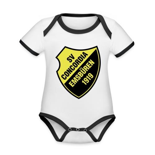 SVCE Logo - Baby Bio-Kurzarm-Kontrastbody