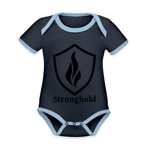 Stronghold.Clothing Brand - Baby Bio-Kurzarm-Kontrastbody
