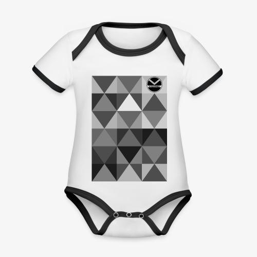 |K·CLOTHES| TRIANGULAR ESSENCE - Body contraste para bebé de tejido orgánico