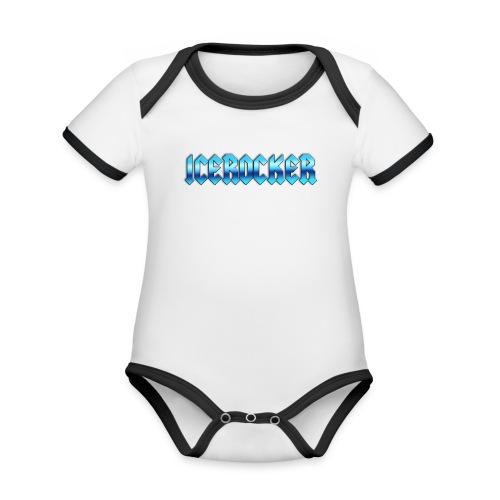 Icerocker - Baby Bio-Kurzarm-Kontrastbody