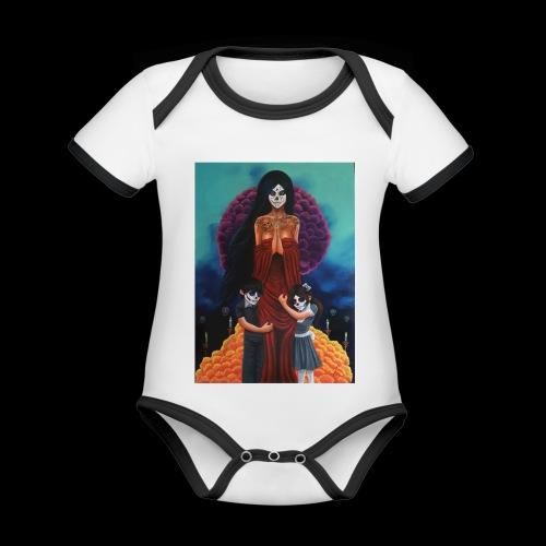 los fieles difuntos - Organic Baby Contrasting Bodysuit
