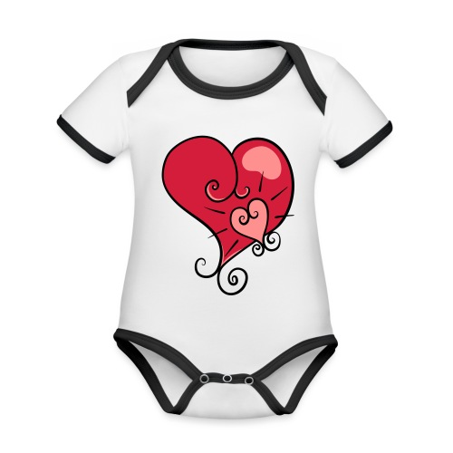 The world's most important. - Organic Baby Contrasting Bodysuit