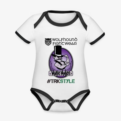 myles front 0518 - Organic Baby Contrasting Bodysuit