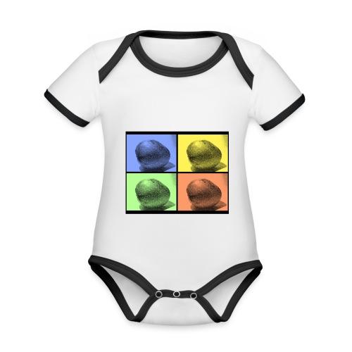 MANGO - Baby Bio-Kurzarm-Kontrastbody
