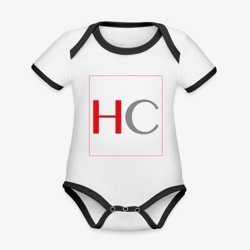 hc png - Body Bébé bio contrasté manches courtes
