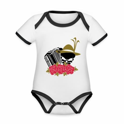 Rock Harmonika - Baby Bio-Kurzarm-Kontrastbody