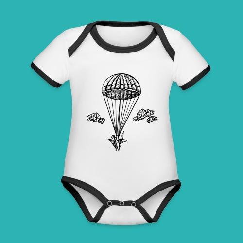 Veleggiare_o_precipitare-png - Body da neonato a manica corta, ecologico e in contrasto cromatico