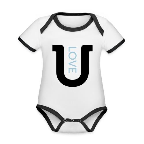 love 2c - Organic Baby Contrasting Bodysuit