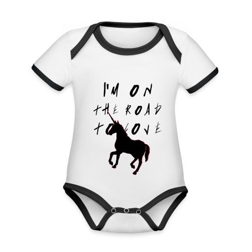 HIGHWAY UNICORN hombre - Body contraste para bebé de tejido orgánico