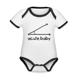 Acute baby - Organic Baby Contrasting Bodysuit